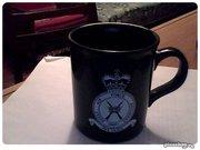 Чашка керамическая изготовлена к Юбилею Полка Королевских Военно-возду