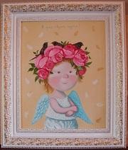 Копия картины Гапинской Я умею творить чудеса!