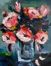 Натюрморт Красные цветы
