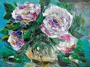 Натюрморт Белые цветы