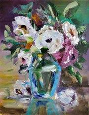Натюрморт Голубая ваза