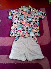 Шорты и рубашка мальчик