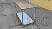 Столы для кухни из нержавеющей стали