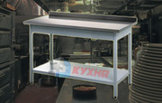 Металлический стол,  столы для общепита