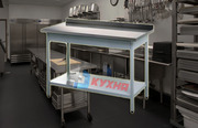Продам столы из нержавеющей стали (пищевая сталь)