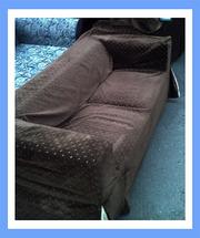 Бу диван с чехлом. Бу диваны для ресторанов. Бу мягкая мебель.