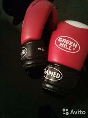 Боксерские перчатки Green Hill Hamed