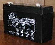 Аккумулятор Leoch 6В(V) 12 Ач(Ah) до детского электромобиля  (машинки,