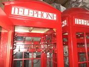 Телефонная будка,  б у в хорошем состоянии.