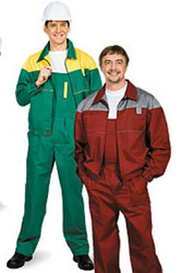 Робочие костюмы, полукомбинезоны , курточки для строителей