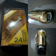Remax Алюминиевая автомобильная зарядка на 2 USB Подбор аксессуаров,  ч