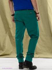 Мужские зеленые брюки, бренд H&M, 54р