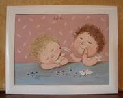 Картина маслом на подарок Гапчинская #Любовь копия маслом