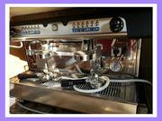 Продам бу кофемашину Diadema DeLux 2 group бу.