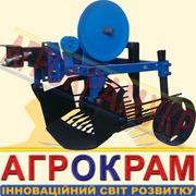 Картофелекопалка грохотная левая на мотоблок-КП-01Л