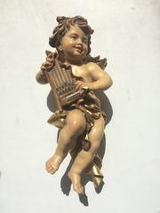 Итальянская деревянная скульптура- Corazza
