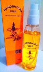 Амарантовое масло купить чистое,  первый отжым, 100 мл,  цена,  свойства