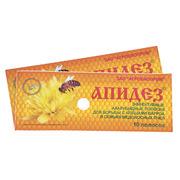 Апидез (тимол,  пихтовое масло) 10 полосок в 1 уп. Агробиопром