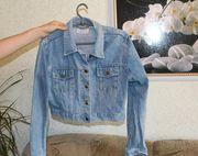 Стильное женское джинсовое болеро