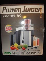 ПРОДАМ соковыжималку Power Juicer WB 100 850watt Германия новая в упаковке