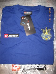 ПРОДАМ футболку LOTTO (р.XL) сбор. Украины по футболу новая в упаковке