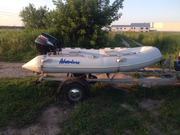 Продаю лодку Adventure RIB 325 мотор Suzuki 15