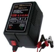 Зарядное 6V/12В для аккумулятора до эхолота,  детского электромобиля,  с