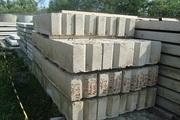 Блоки фундаментные подвалов (ФБС) заборы и ограждения перемычки