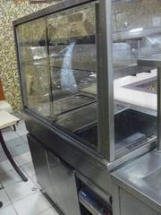 Линия раздачи б/у Metos мармиты тепловые и холодильные.