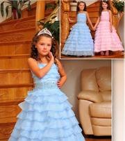 Детское нарядное платье 34 размер