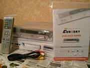 новый спутниковый тюнер Eurosky DVB-3023 Super