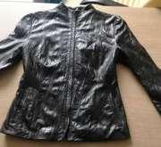 Кожаная куртка 38-40