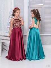 Длинные и короткие детские нарядные платья