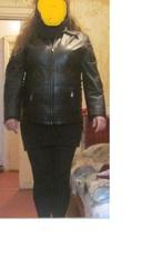 Продам женскую кожаную куртку (ИТАЛИЯ,  Vera Pelle) в отл. состоянии