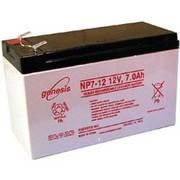 Качественный аккумулятор Genesis 12В 7Ач для ИБП,  эхолота,  детского эл
