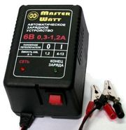 Зарядное 6/12В для аккумулятора до эхолота,  сигнализации,  детского эле