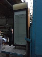 Продам холодильный шкаф бу со стеклянной дверью