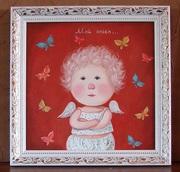Купить копию картины Евгении Гапчинской #Мой ангел