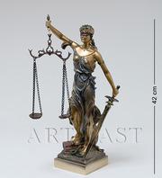Статуэтка Фемида - богиня правосудия. Высота 20,  30,  40,  50,  60 см.