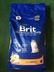 Сухой корм для кошек Brit Premium Chicken Adult 8 кг