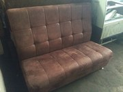 Продам коричневые замшевые диваны бу для ресторана