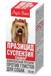 ПРАЗИЦИД-СУСПЕНЗИЯ СЛАДКАЯ для собак (10 мл. )
