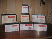 Аккумулятор (в т.ч. гелевый) ТМ Ventura 12В 4-7-9-12 до эхолота,  ИБП