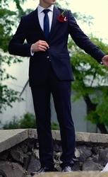 Очень стильный мужской костюм Zara (slim fit)