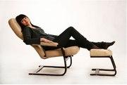Кресло качалка Komfort для кормления грудью и укачивания ребенка