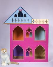 Большой складной кукольный домик в стиле Монстер Хай.