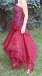 Выпускное платье (одевала как дружка)