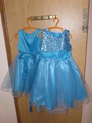 Детские нарядные платья,  2 размера