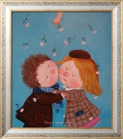 Картина маслом на 8 марта,  Гапчинская картины