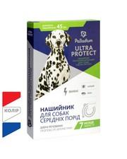 Палладиум Ultra Protect ошейник от блох и клещей для собак средних пор